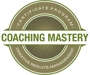 Coaching Mastery Creative Results Logo